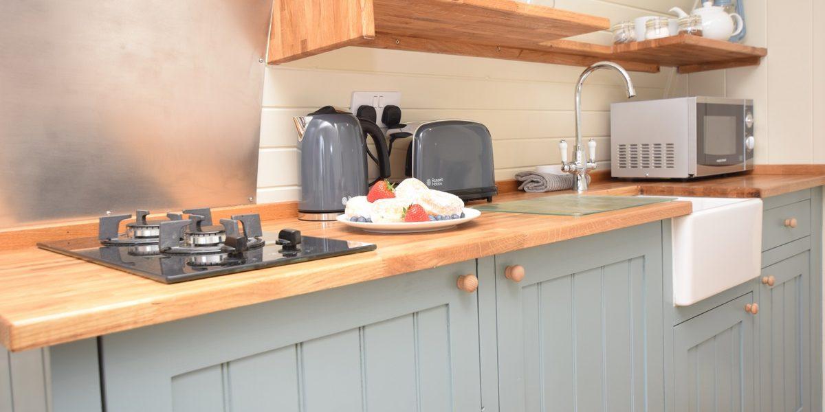 Luxury Micro Lodge - Kitchen