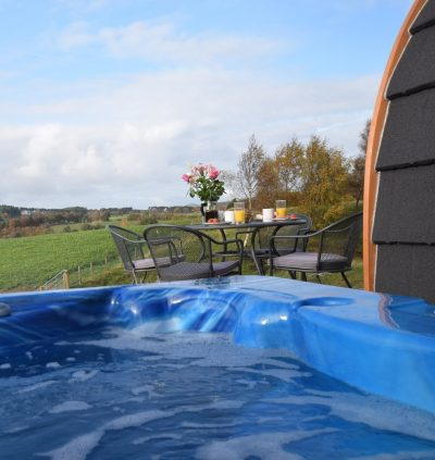 The Stag - Luxury Micro Lodge Hot Tub
