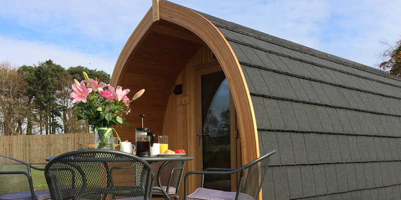 The Stag - Luxury Micro Lodge in the Scottish Borders