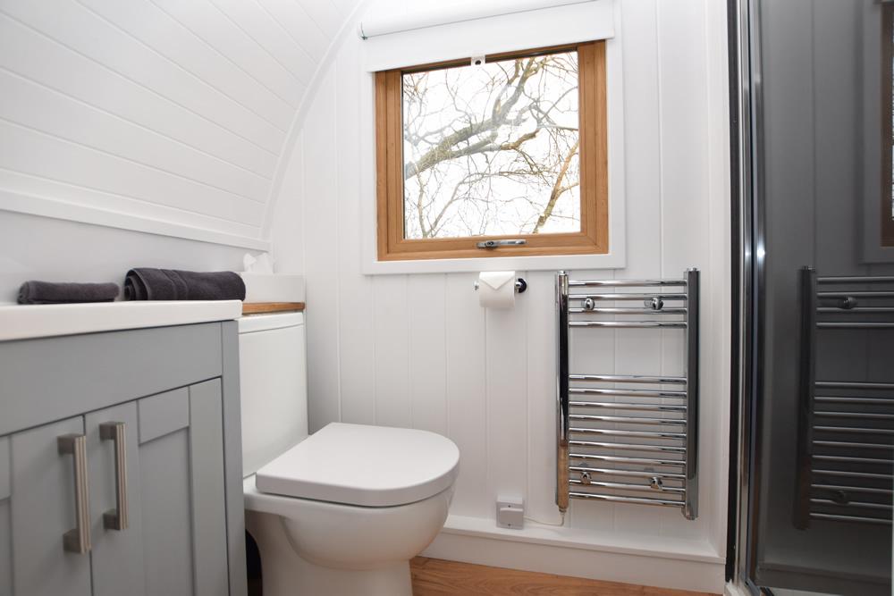 Light bright shower room